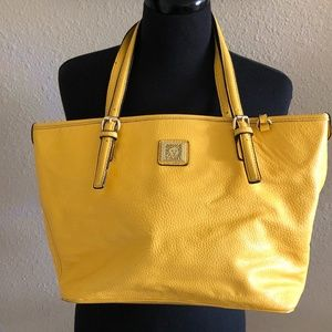 Anne Klein Perfect Tote Womens Yellow Handbag